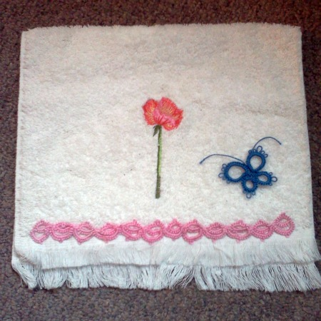 Embelished Hand Towel