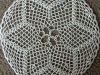 White Chain Doily
