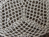 White Chain Doily Closeup