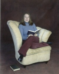 About Me Chair and Book Full Length