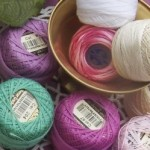 Pile of Tatting Thread