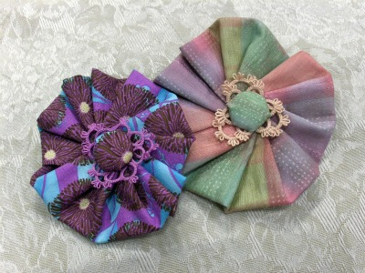 Tatted Hair Barrette Project