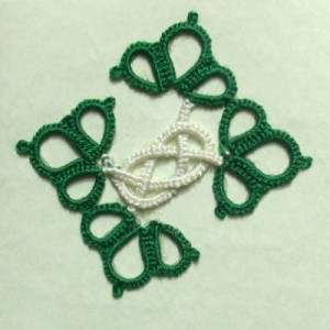 Green Celtic Motif