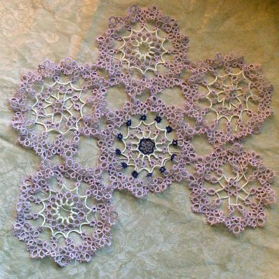 moms unfinished doily